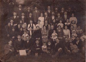 Grupa adventistilor braileni - 1912